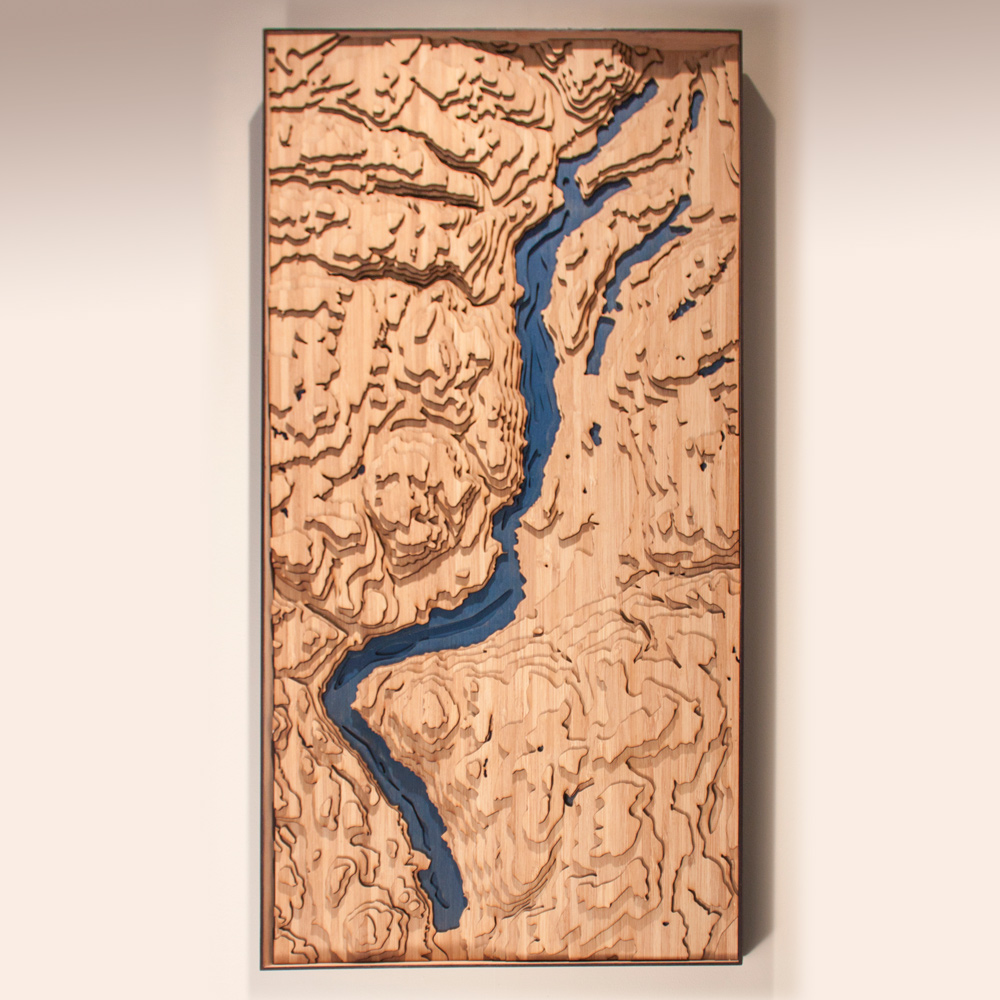 okanagan lake topographic map
